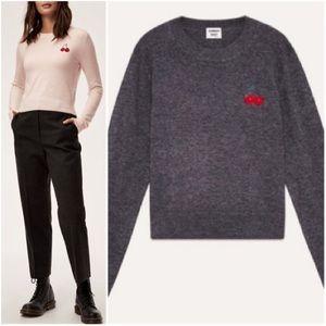 Aritizia Subday Best Abby Cherry Sweater